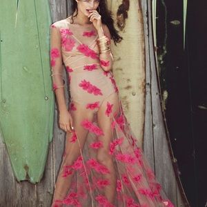 For Love and Lemons Orchid Dress in size S